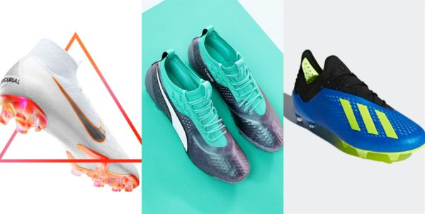 Goalscorer's boots World Cup