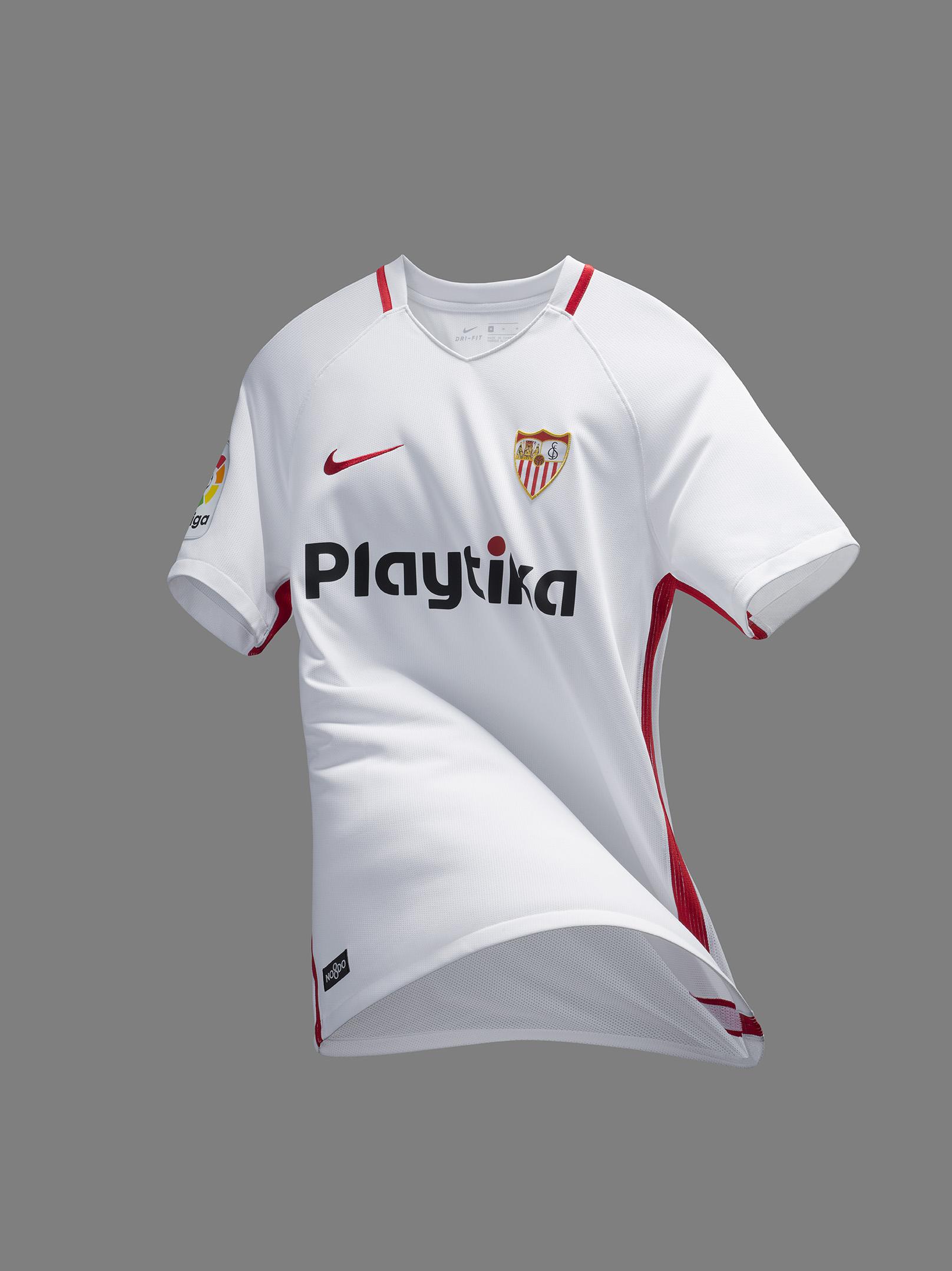 d0d8bdb172e Sevilla FC Home & Away Jerseys 18/19 - BOOTHYPE