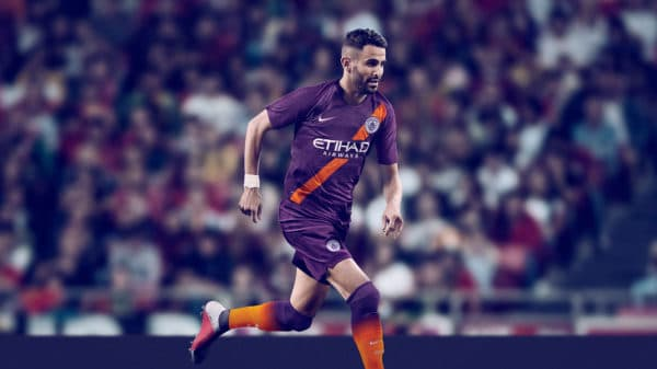 Manchester City third kit 2018/19 - Riyad Mahrez
