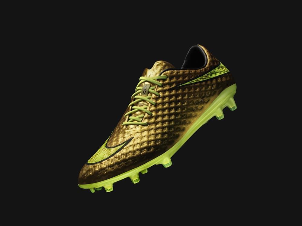 Nike Hypervenom Phantom - Gold Neymar