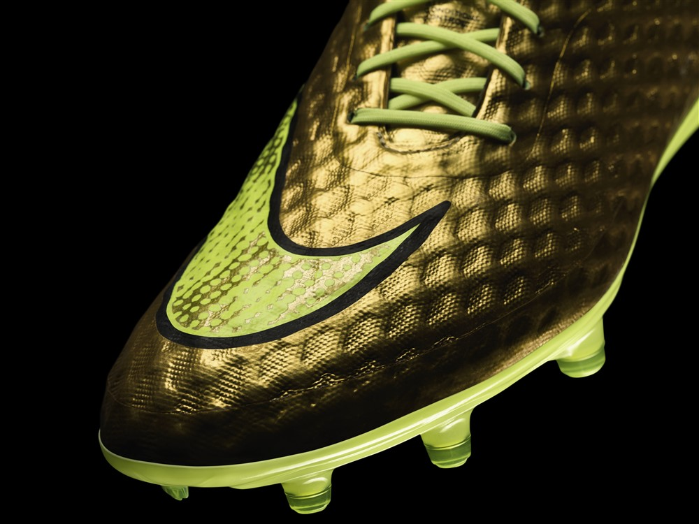 0114bede5 HyperVenom Phantom Premium Gold/Volt/Black. With the 2014 World Cup held in  Brazil, Nike wasted no time in focusing attention on their golden boy Neymar .