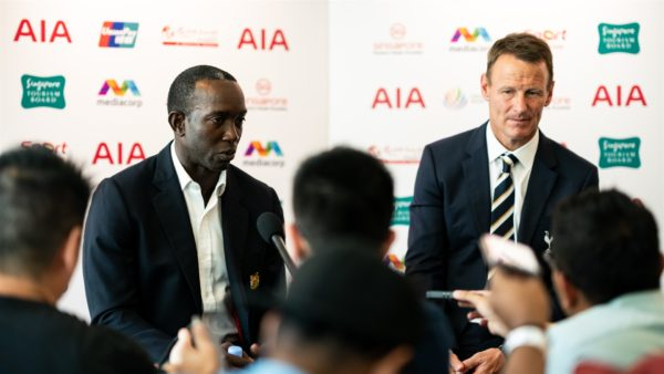 Dwight Yorke Teddy Sheringham International Champions Cup ICC 2019 interview Manchester United Tottenham Legends