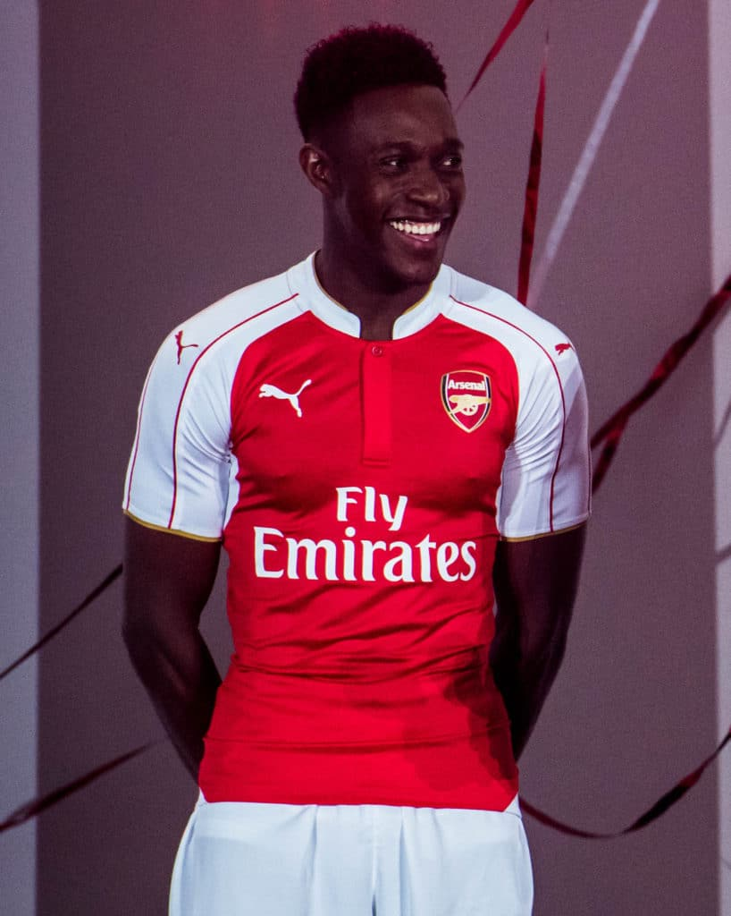 Arsenal home jersey 15/16 danny welbeck