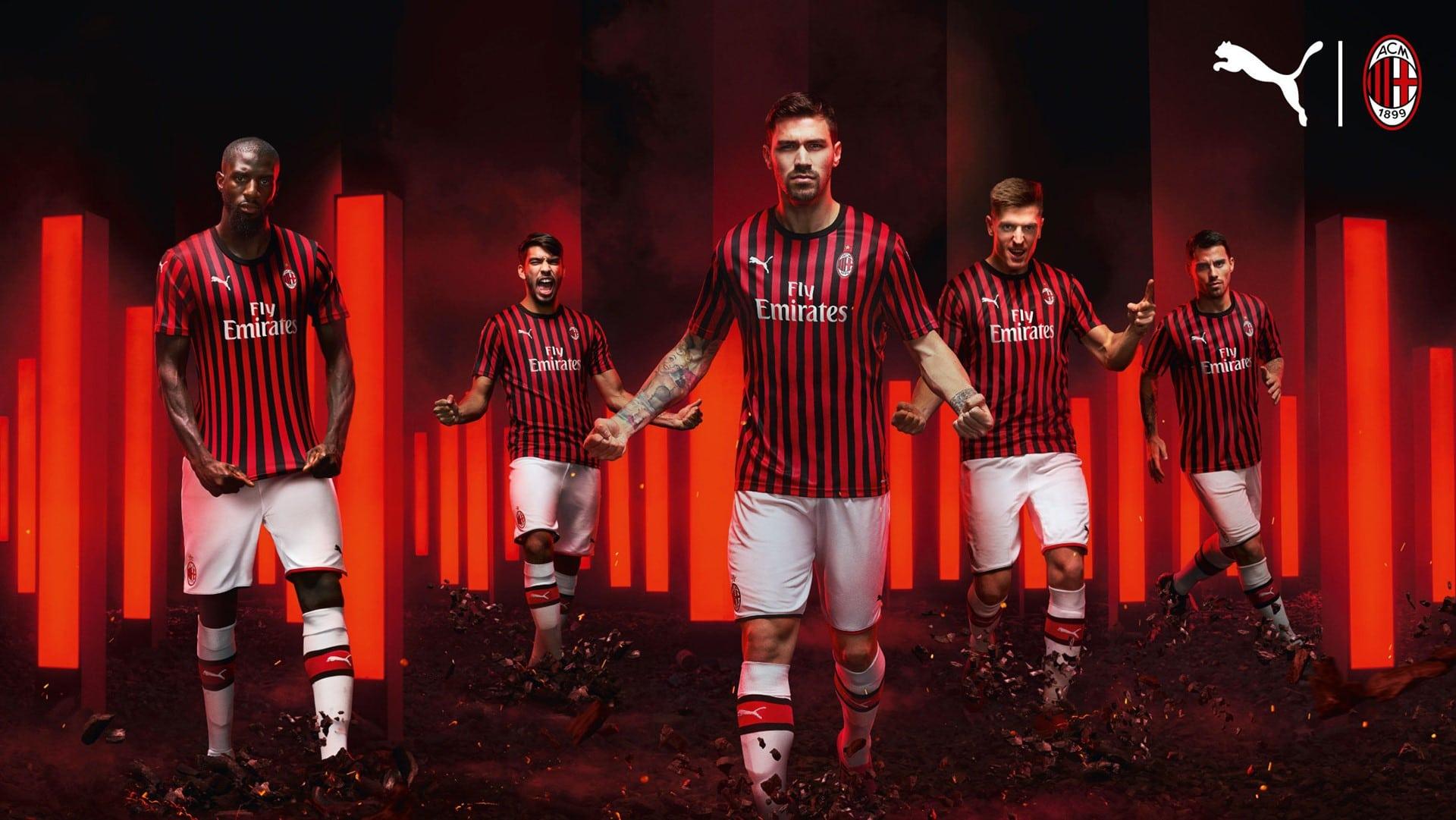 AC Milan Home Kit 2019/20