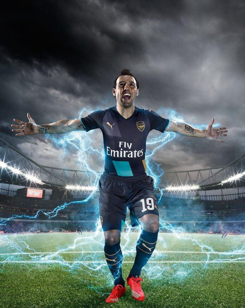 Arsenal third kit 15/16