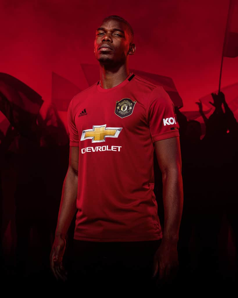 Manchester United Home Kit 2019/20 Paul Pogba