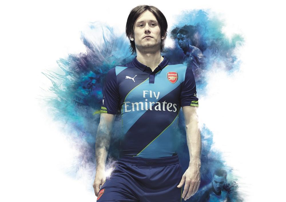 Arsenal third kit 14/15