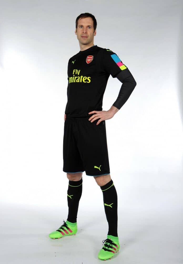Arsenal goalkeeper kit 16/17