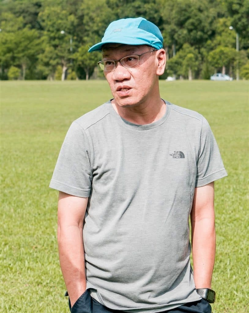 James Wong of Alexandra football academy
