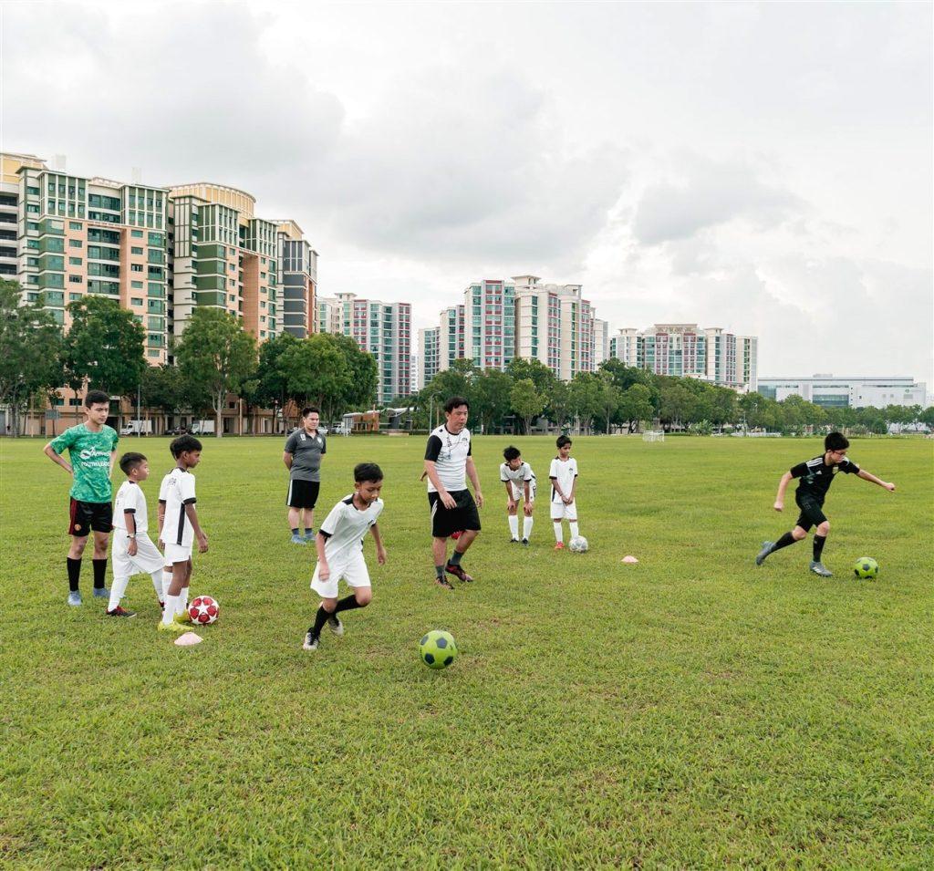 Alexandra football academy training