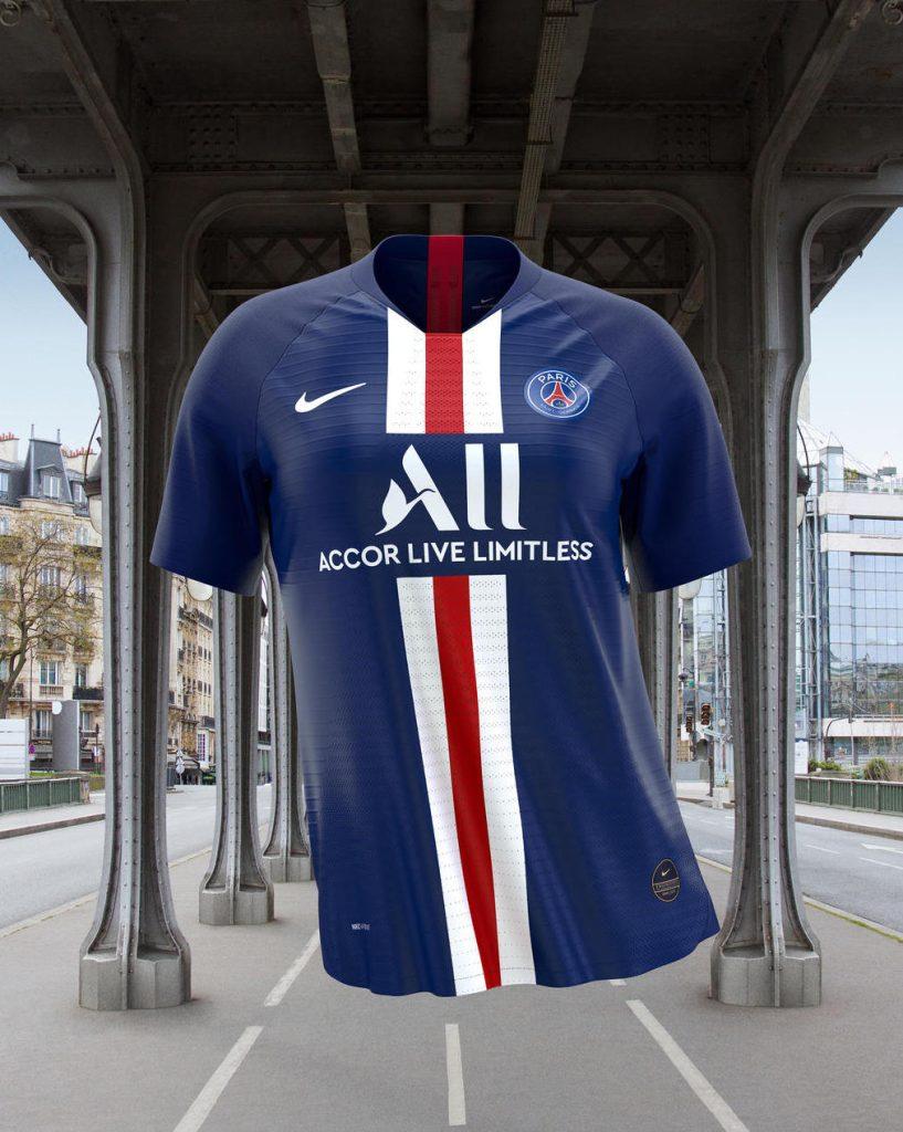 Paris Saint-Germain Home Kit: 2019-20