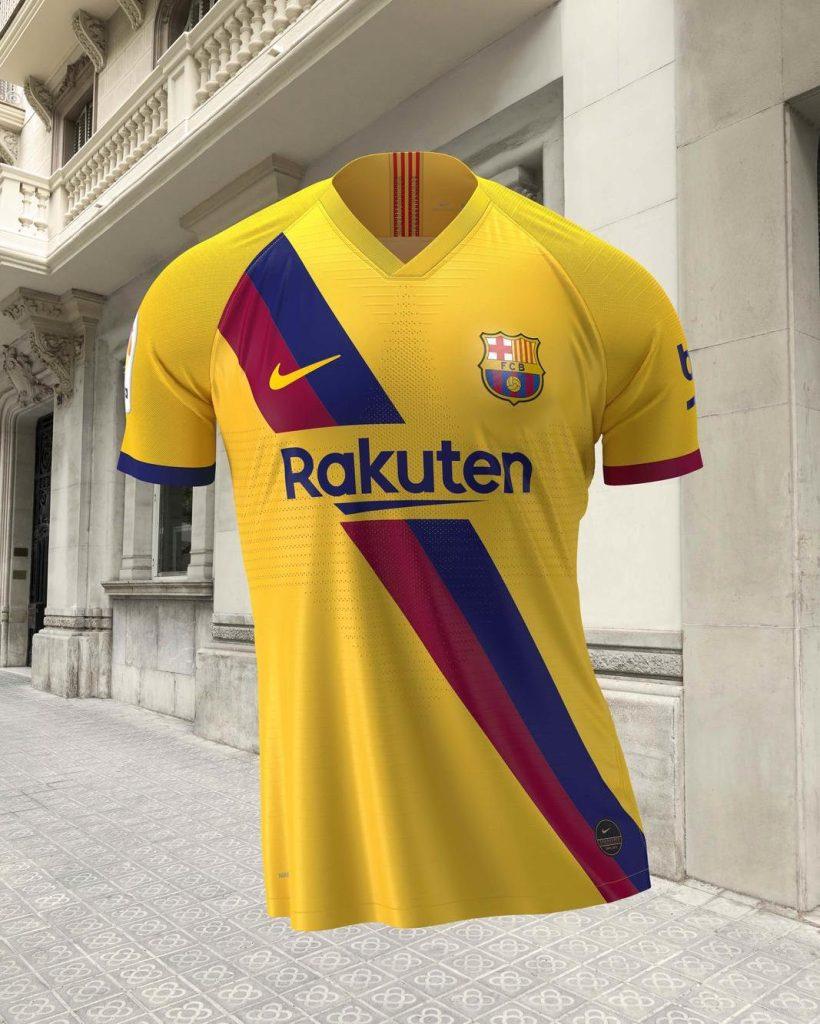 Barcelona Away Kit 2019/20