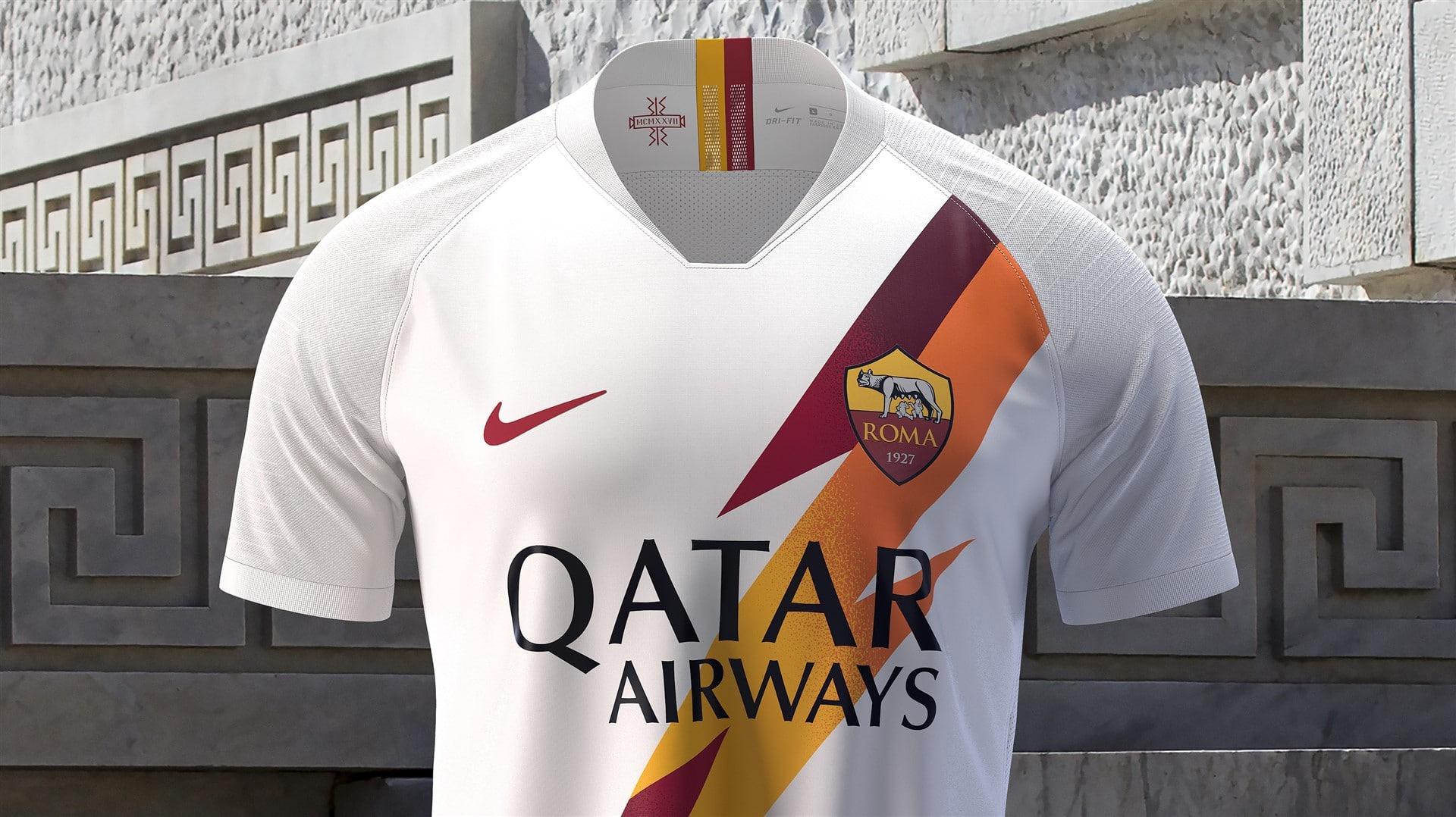 5472be50b7e3e AS Roma Away Kit: 2019/20 - BOOTHYPE Jerseys