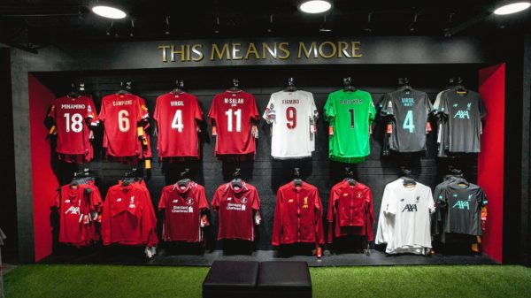 Liverpool FC Singapore Store - Bugis Junction