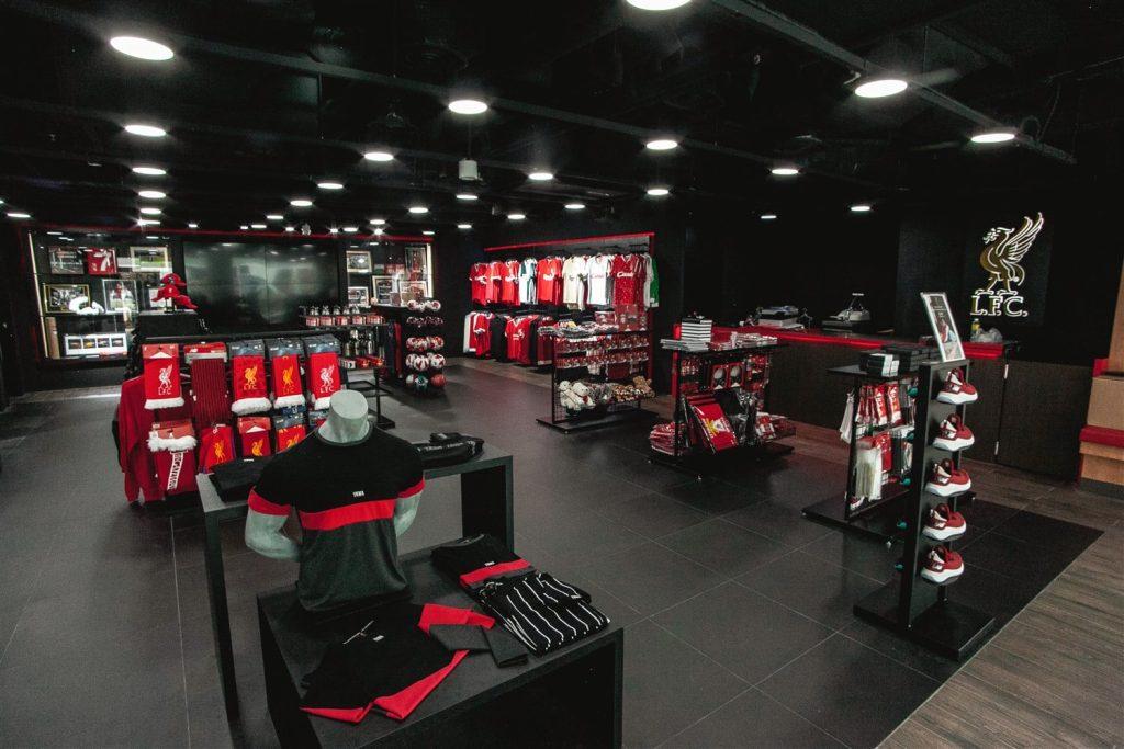 Liverpool FC Singapore Store - Bugis Junction