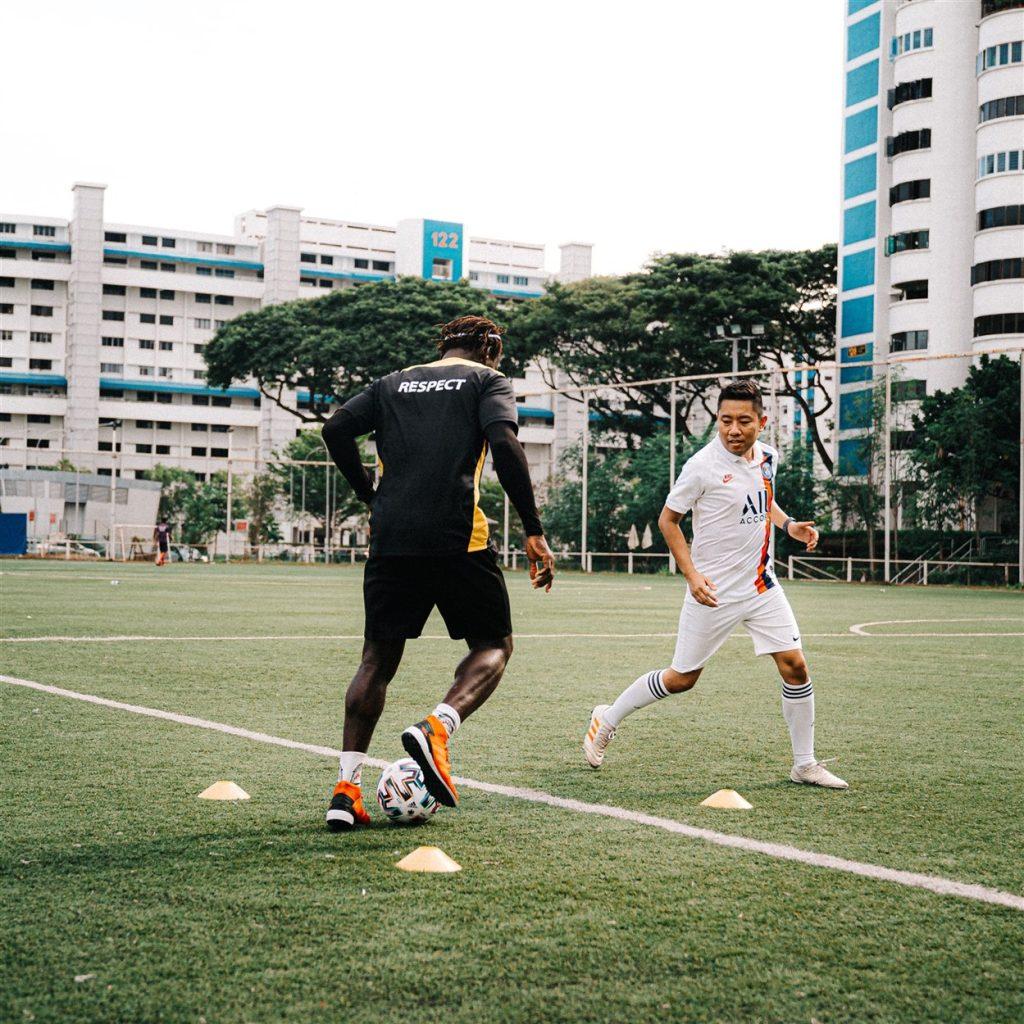 how improve passing in football - coach dennis ikogho espzen soccer school