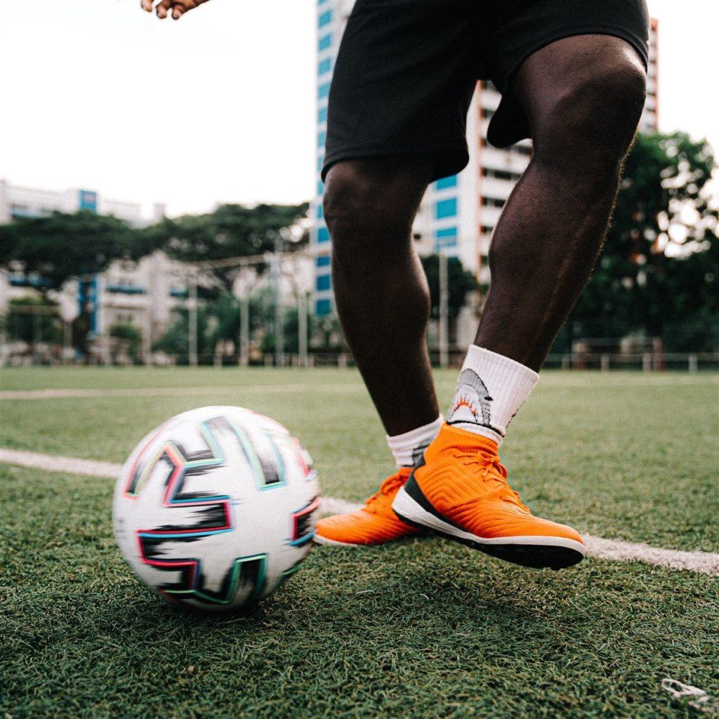 how improve passing in football - coach dennis ikogho espzen soccer school - instep pass
