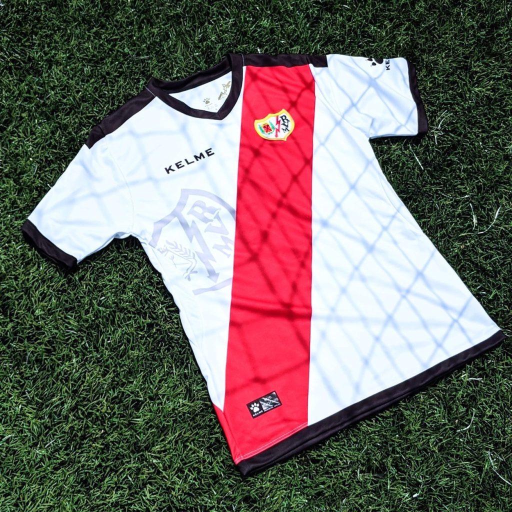 Rayo Vallecano football kit jersey - laliga football kit