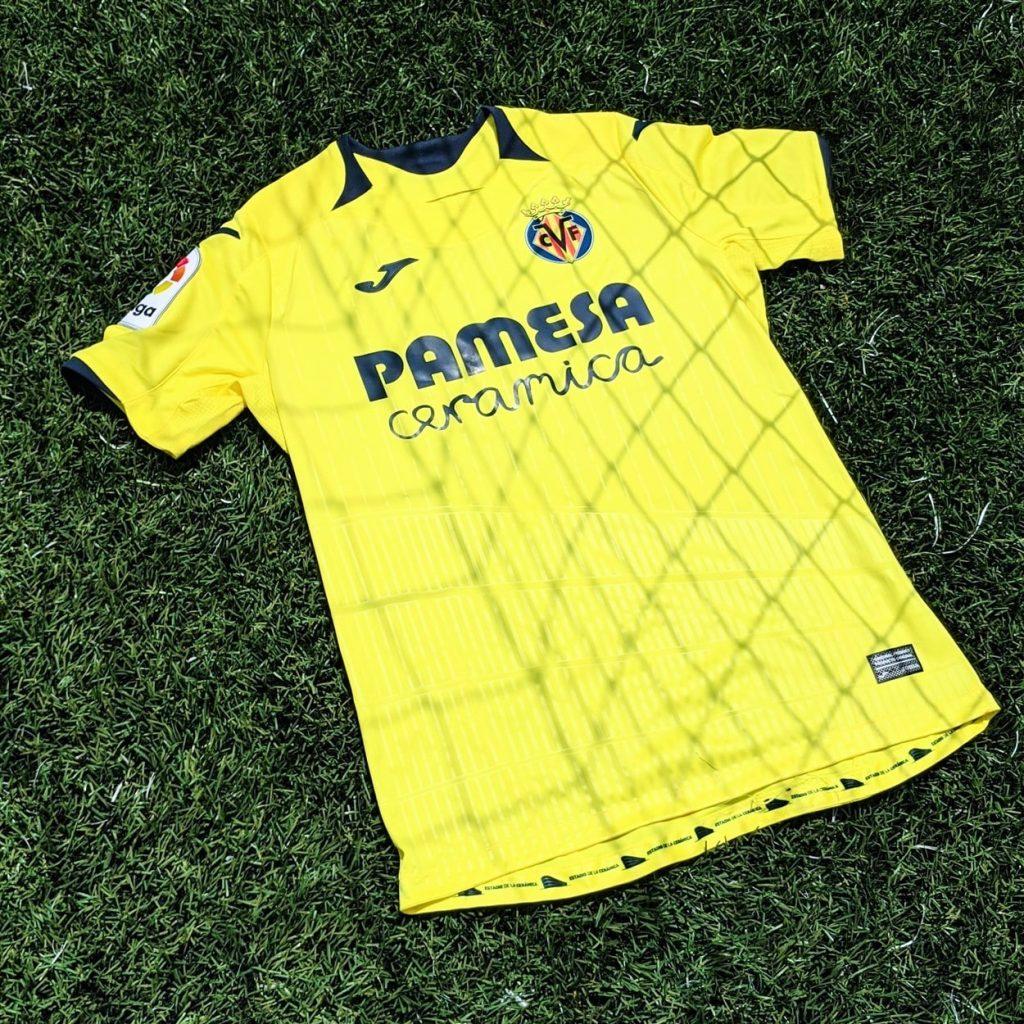 villarreal laliga football kit jersey