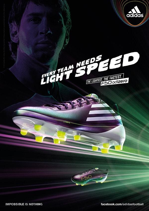 building the perfect speed boot - adidas f50 adizero