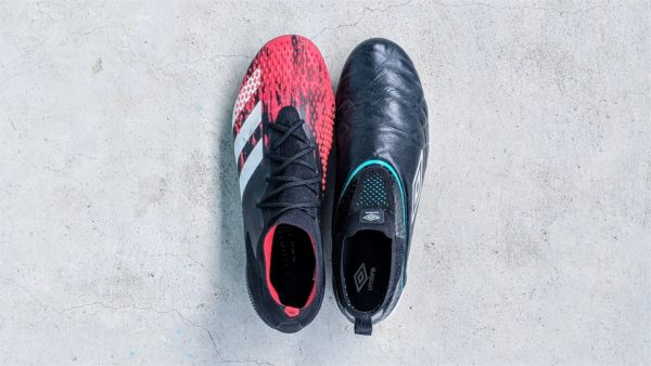 best boots for defenders - adidas predator 20.1 and umbro medusae elite 3 (1920 x 1082)