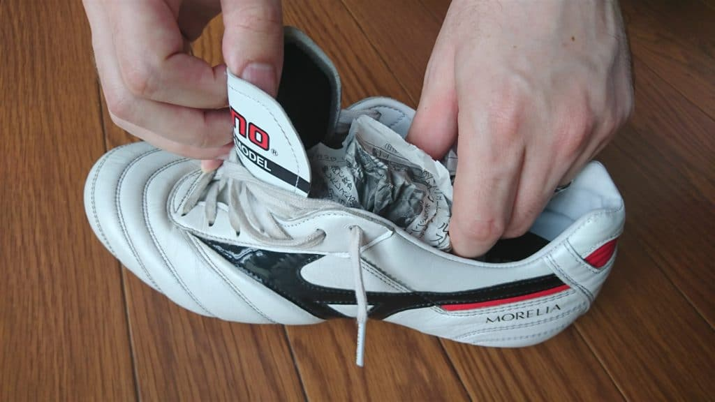 dry your football boots