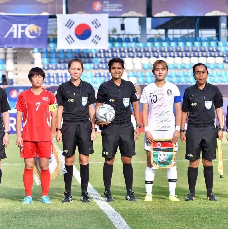 abirami naidu - female fifa referee singapore