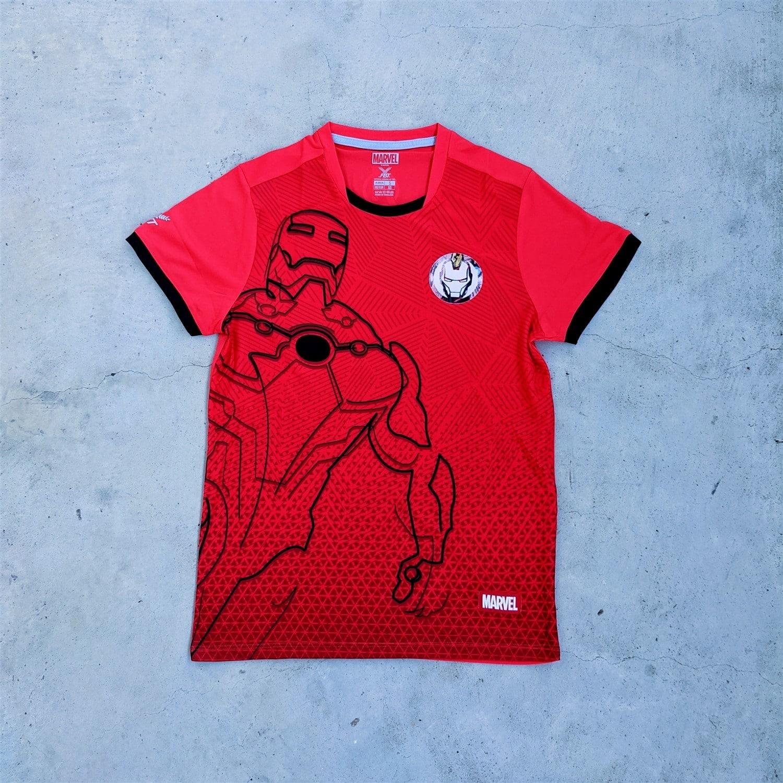 Marvel x FBT football jerseys - Iron Man
