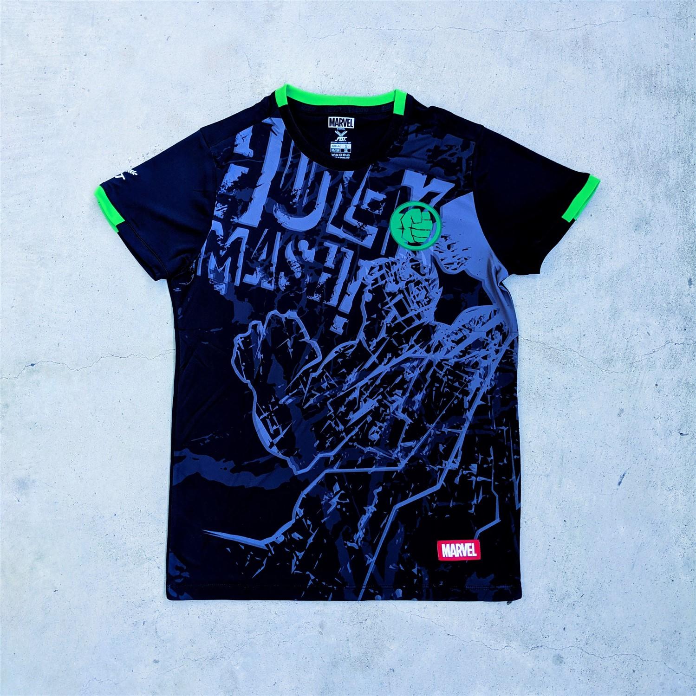 Marvel x FBT football jerseys - The Hulk