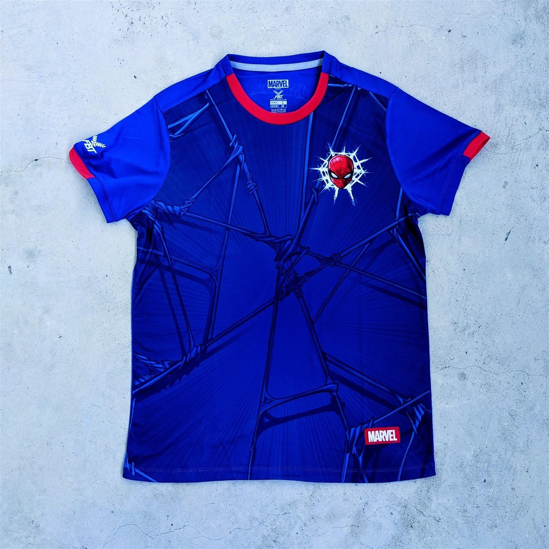 Marvel x FBT football jerseys Spider-Man