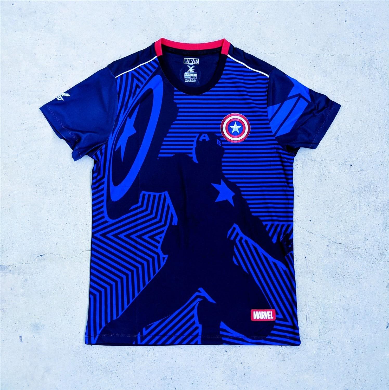 Marvel x FBT football jerseys - Captain America