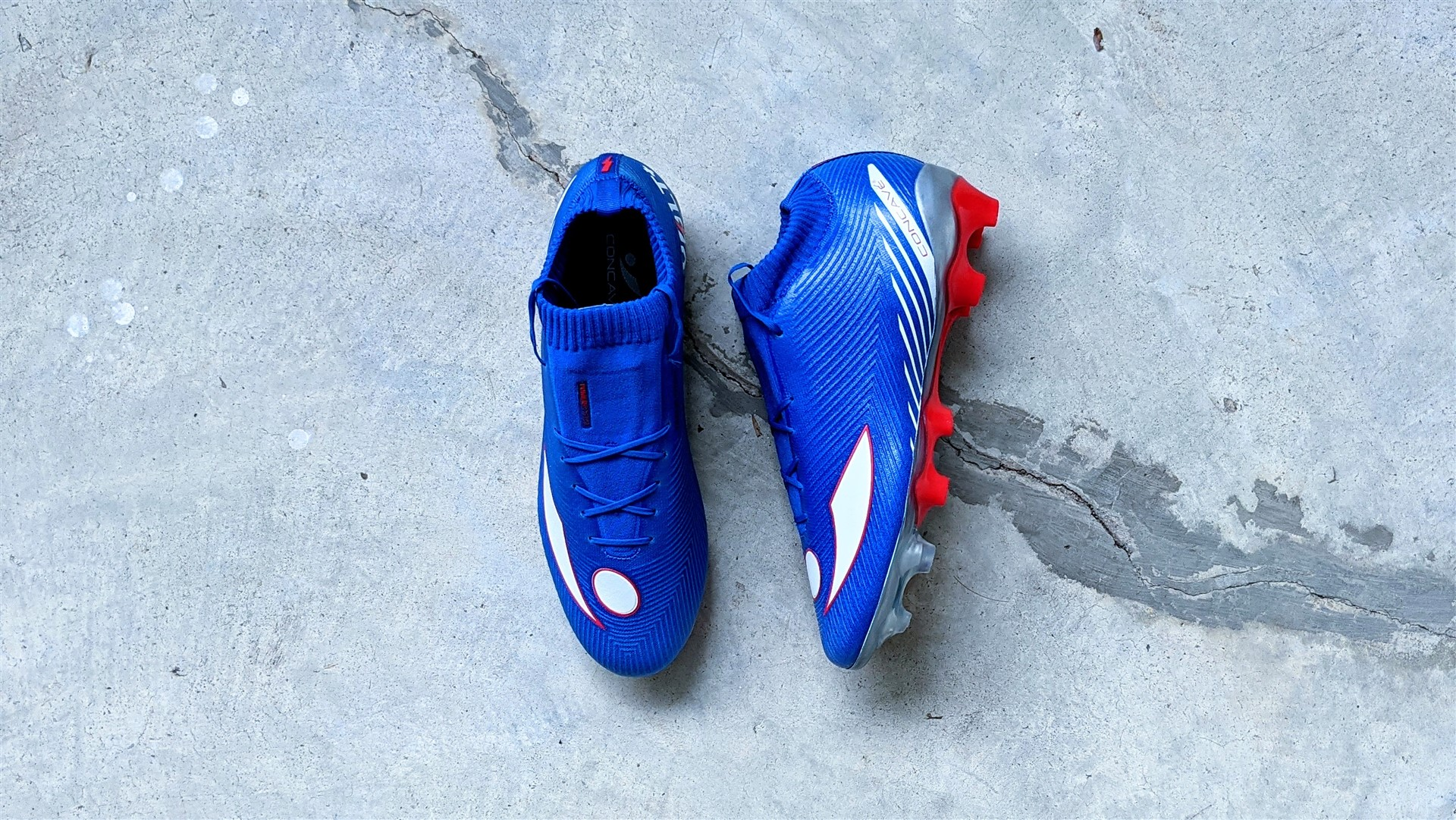 Concave Volt + football boots soccer cleats