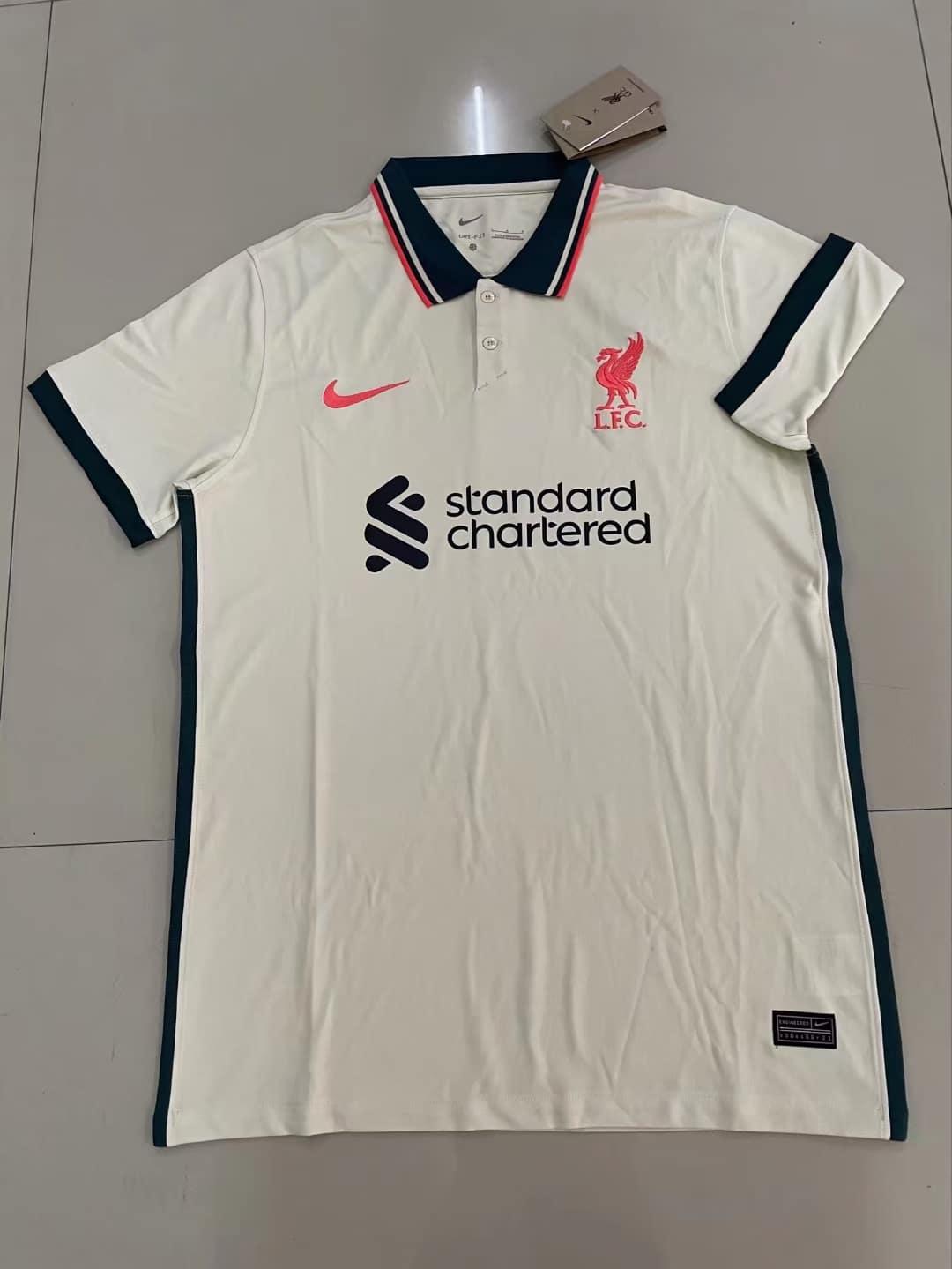 Leaks - Liverpool away kit 2021/22