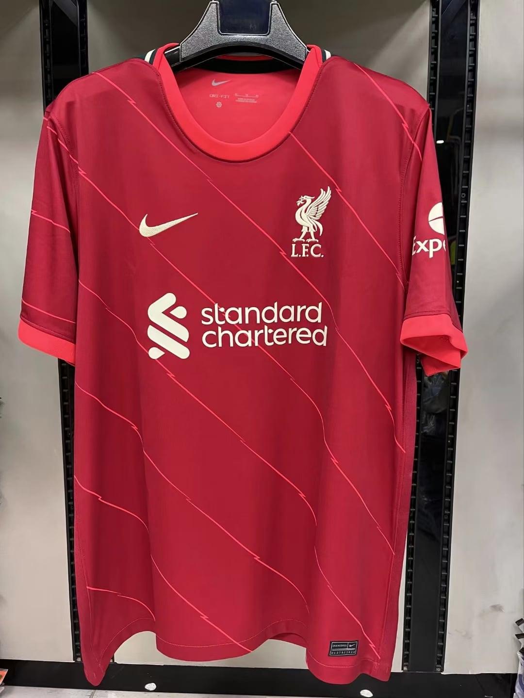 Leaks - Liverpool home kit 2021/22