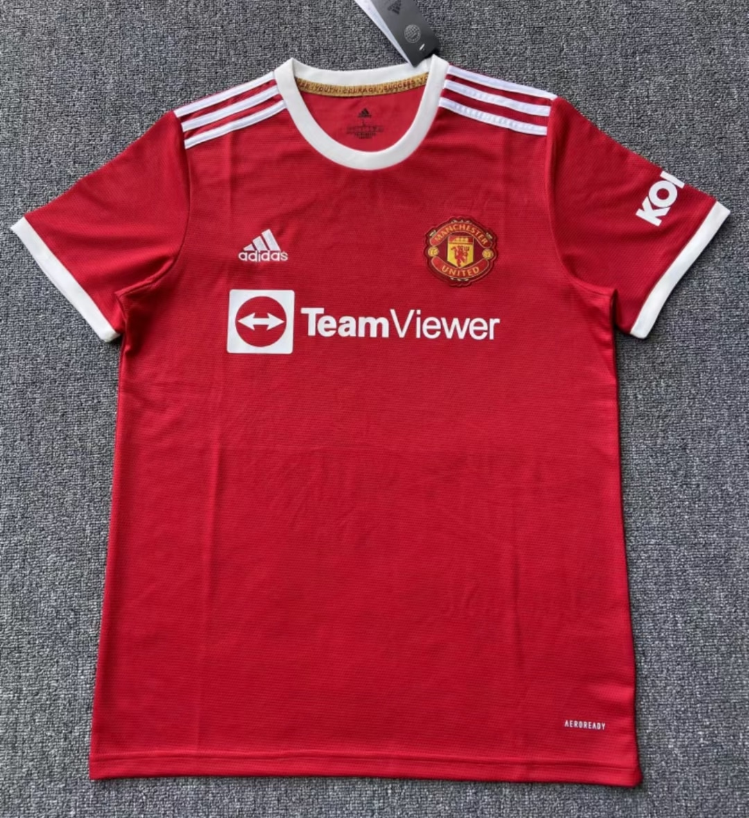 manchester united 2021-22 home kit football jersey